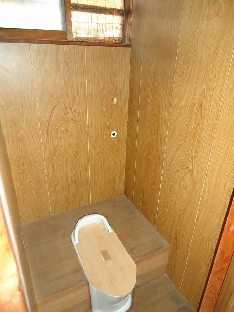 那須住宅 3号室のトイレ