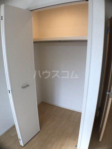 サニーオレンジ 02070号室の収納