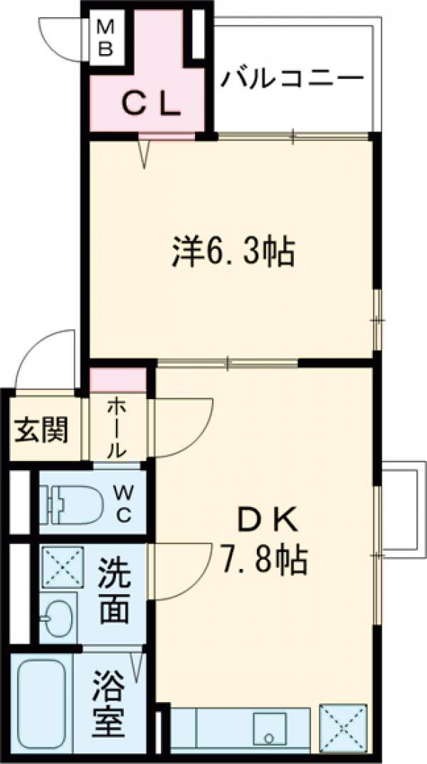 Y house(ハウス・03010号室の間取り