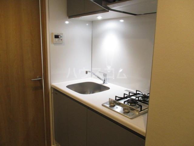 パークヒルズ経堂 107号室のキッチン