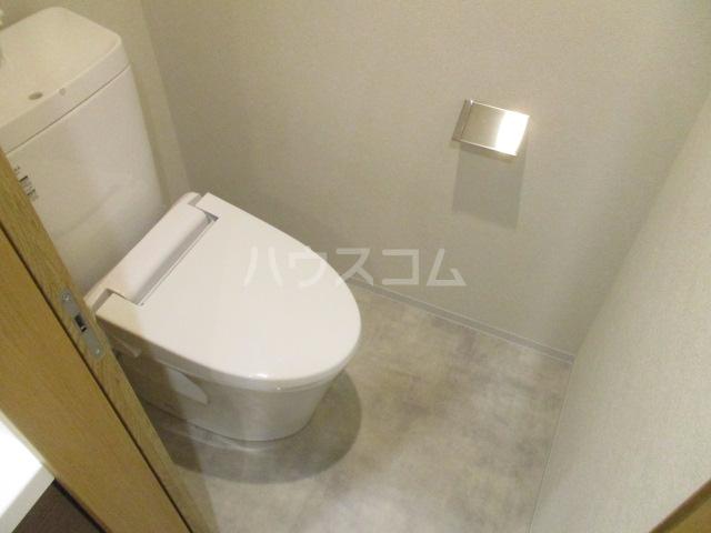 パークヒルズ経堂 107号室のトイレ