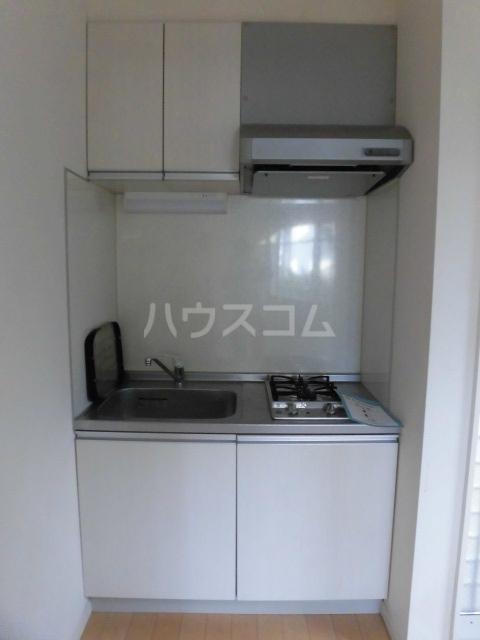 グランエッグス学芸大学 203号室のキッチン