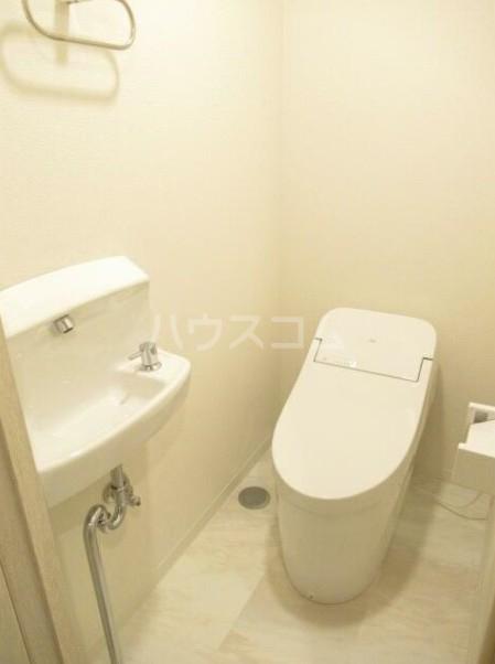 グランドハイツ自由が丘 2号室のトイレ