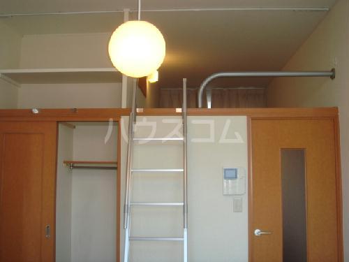 レオパレスMINA 205号室の収納