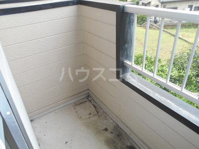 福岡ワンルームマンション B401号室のバルコニー