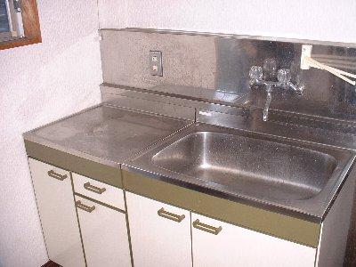 福岡ワンルームマンション B401号室のキッチン