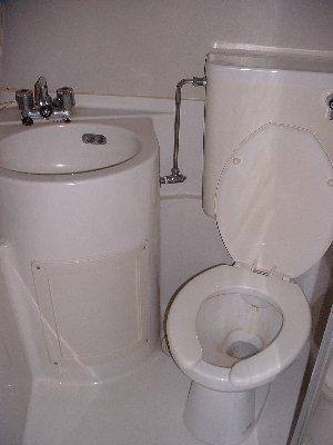 福岡ワンルームマンション B401号室の洗面所