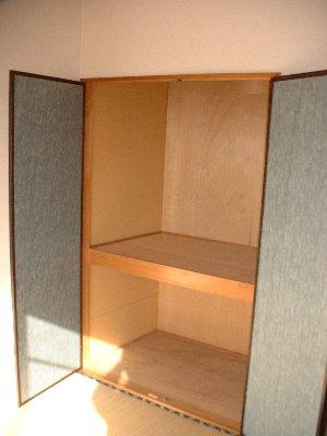 福岡ワンルームマンション B401号室の収納