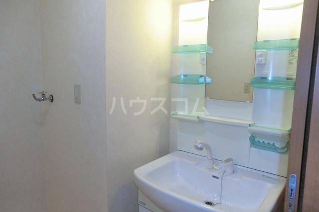 ガーデンコートHISOKO 102号室の洗面所