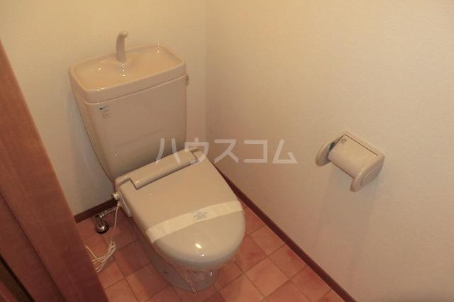 ガーデンコートHISOKO 102号室のトイレ