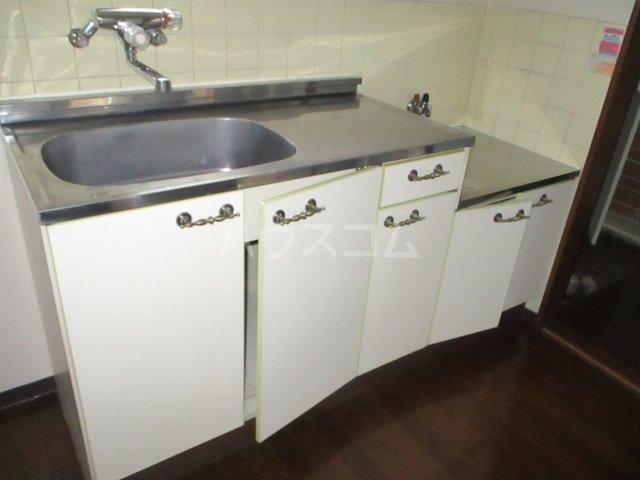 フェニックス鷺沼 105号室のキッチン