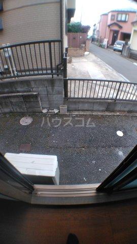 カーサハザマ 101号室のバルコニー