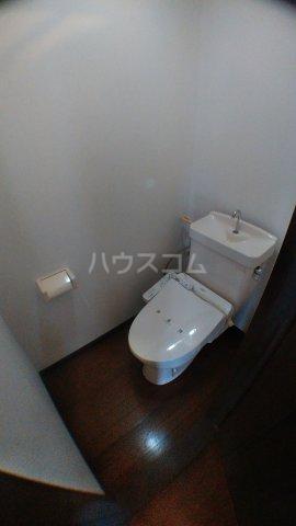 カーサハザマ 101号室のトイレ