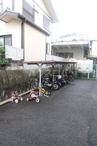 美里原田ビル 2A号室のバルコニー