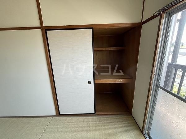 マンションTU 301号室の収納