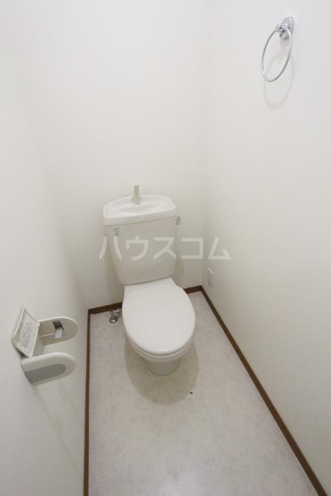 パセオ丸山 202号室のトイレ