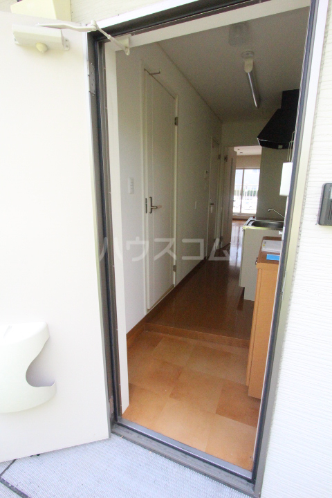 パセオ丸山 202号室の玄関