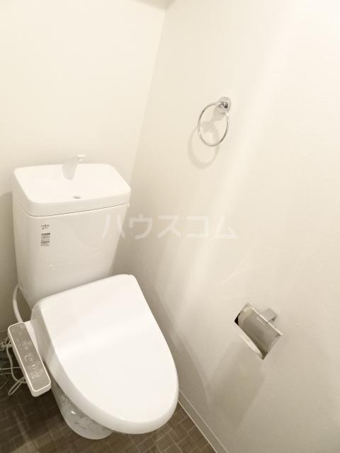 Woodman 101号室のトイレ