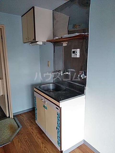 フラットえびす 305号室のキッチン