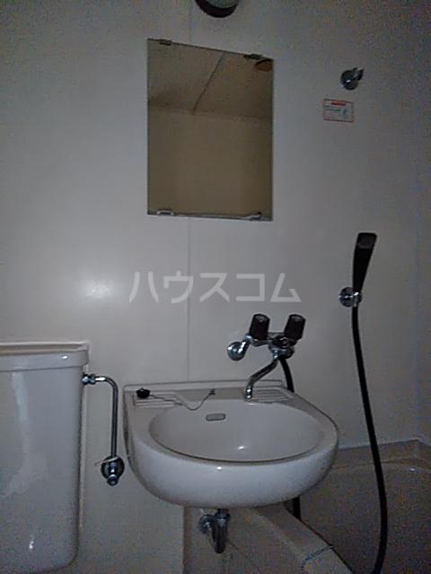 フラットえびす 305号室の洗面所