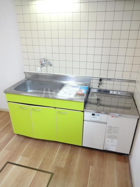 テラスベルピア 101号室のキッチン