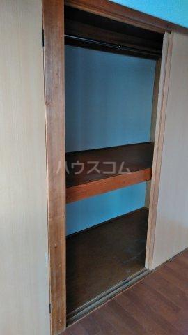 栗木山ハイツ1棟 1D号室の収納