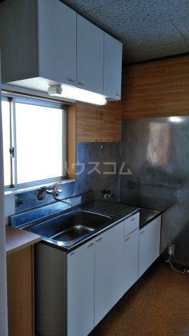 栗木山ハイツ1棟 1D号室のキッチン
