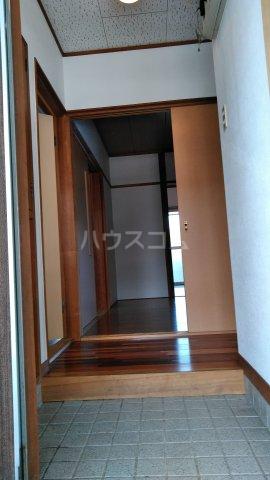 栗木山ハイツ1棟 1D号室の玄関