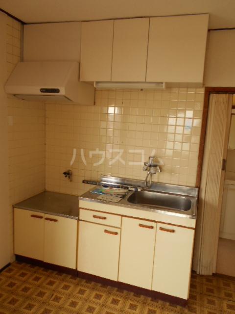 ジャルダン錦 303号室のキッチン