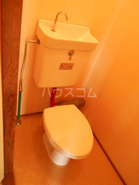 ジャルダン錦 303号室のトイレ