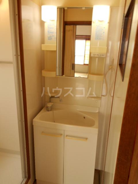 ジャルダン錦 303号室の洗面所