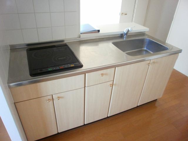 Bonheur衣丘 201号室のキッチン