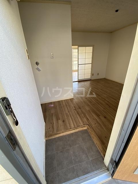 羽根ハイツ 202号室の玄関
