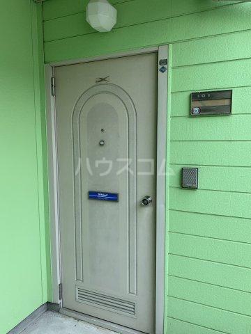 タウニー丸田B 101号室の玄関
