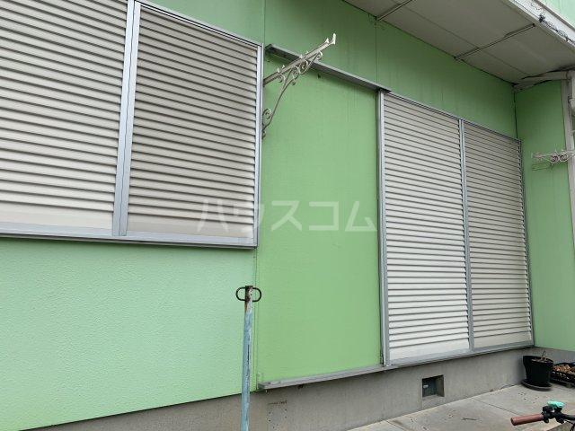 タウニー丸田B 101号室のバルコニー