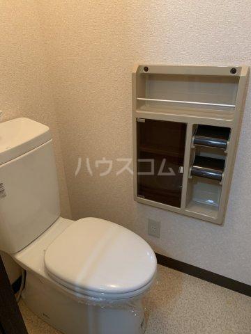 タウニー丸田B 101号室のトイレ