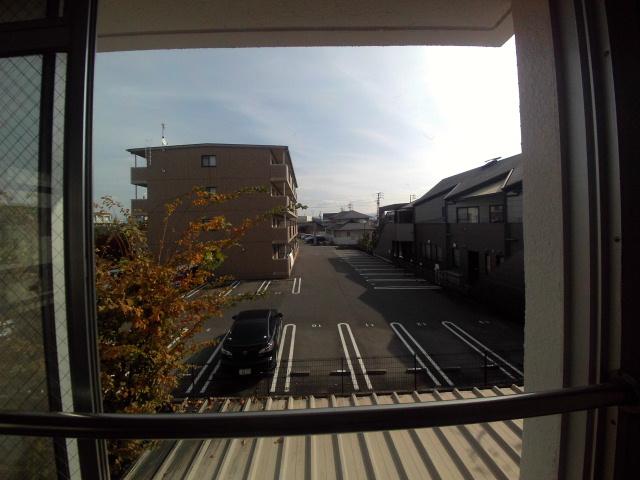 大和ハイツ A棟 205号室の景色