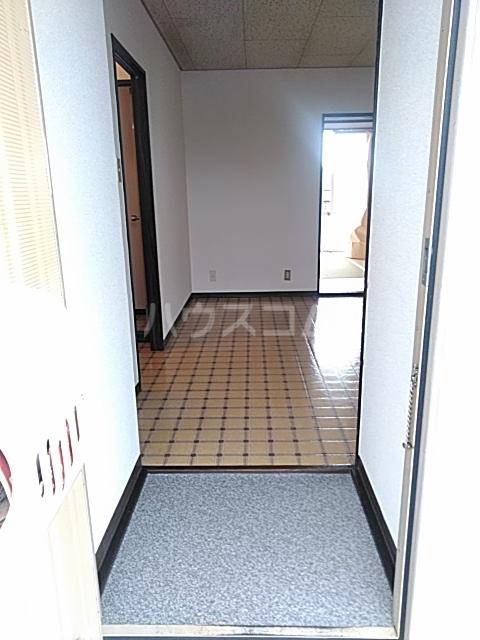 ハイツ東新C 203号室の玄関