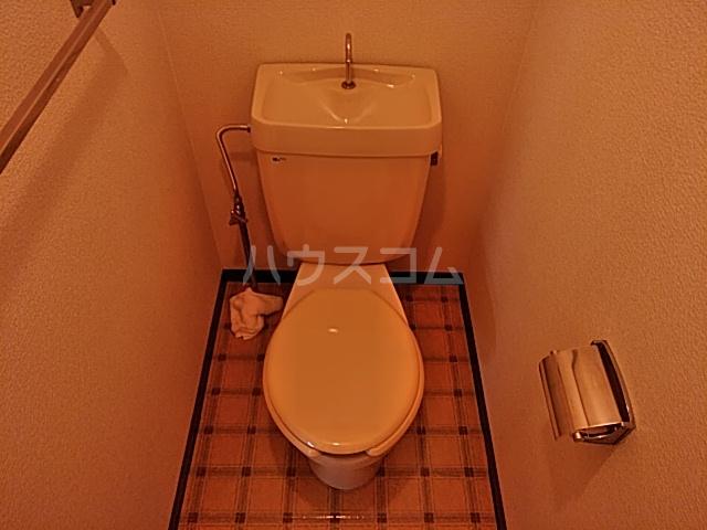ハイツ東新C 203号室のトイレ