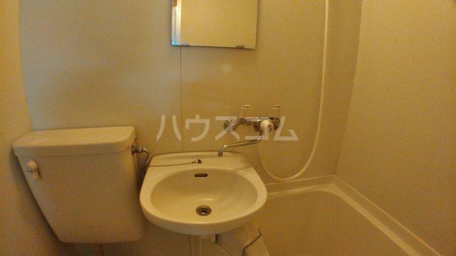 ハウスピアヤマモト 203号室の洗面所