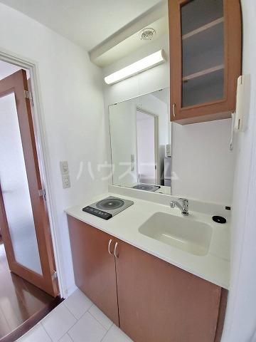 アイルーム豊田永覚Ⅱ 202号室のキッチン
