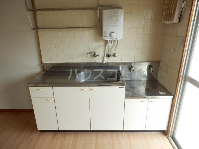 コーポ山手 202号室のキッチン