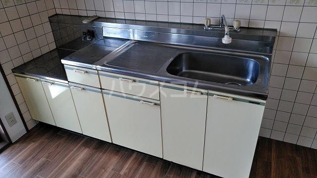 ガーデンハイム水向 A号室のキッチン