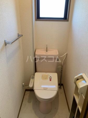ハーバービュー丸山W 102号室のトイレ