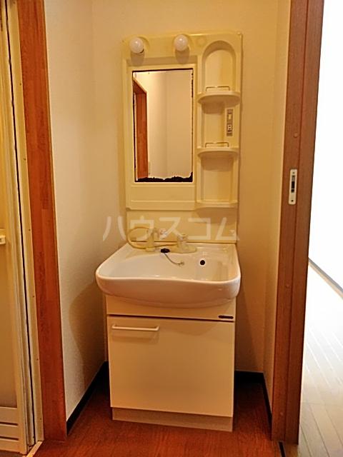 シティハイツSK 202号室の洗面所