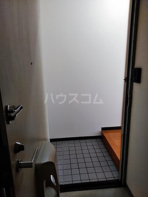 シティハイツSK 202号室の玄関