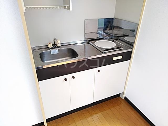 シティハイツSK 202号室のキッチン