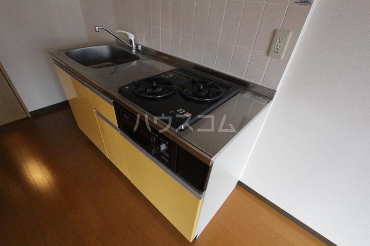 レジデンスウインド山の手 201号室のキッチン