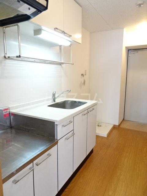 ミッドスクエア豊田 301号室のキッチン