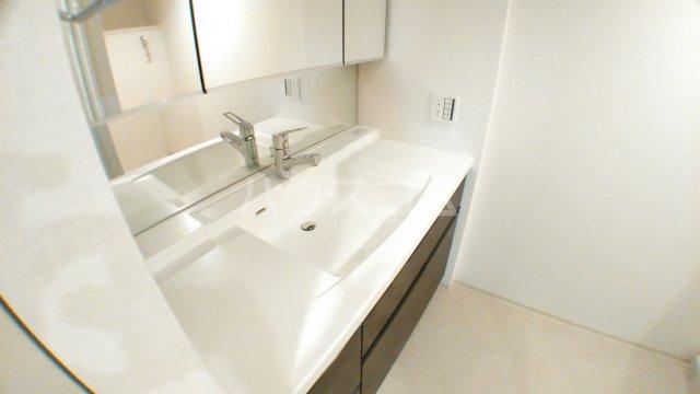 津田沼ザ・タワー 3906号室の洗面所